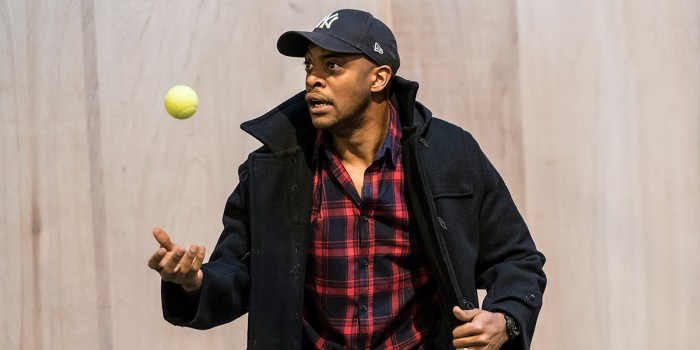 Oliver Alvin-Wilson in The Twilight Zone rehearsals (Photo: Johan Persson)