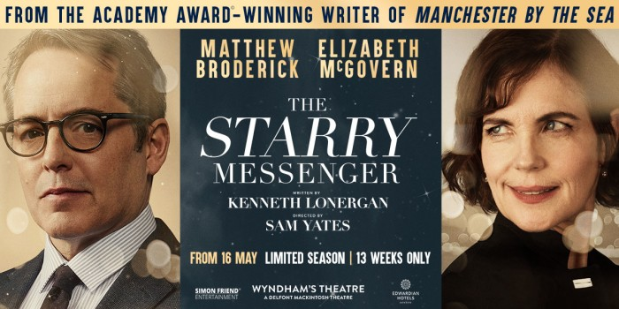 The Starry Messenger tickets at Wyndham's Theatre