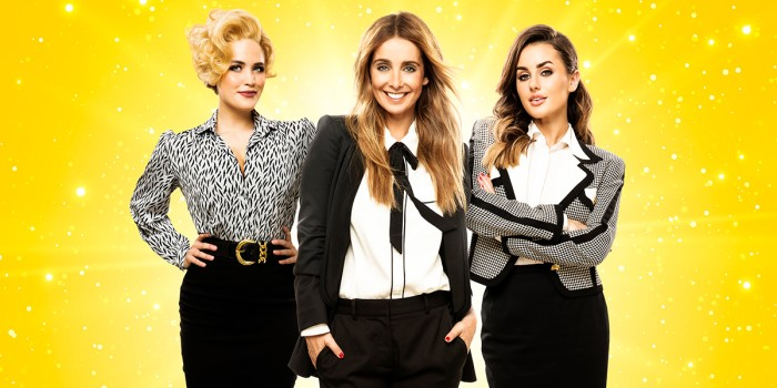 Natalie McQueen, Louise Redknapp and Amber Davies in 9 To 5 The Musical (Photo: Simon Turtle)