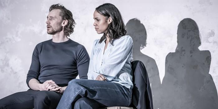 Tom Hiddleston and Zawe Ashton in Betrayal at the Harold Pinter Theatre (Photo: Marc Brenner)