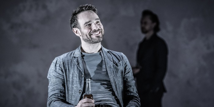 Charlie Cox and Tom Hiddleston in Betrayal at the Harold Pinter Theatre (Photo: Marc Brenner)