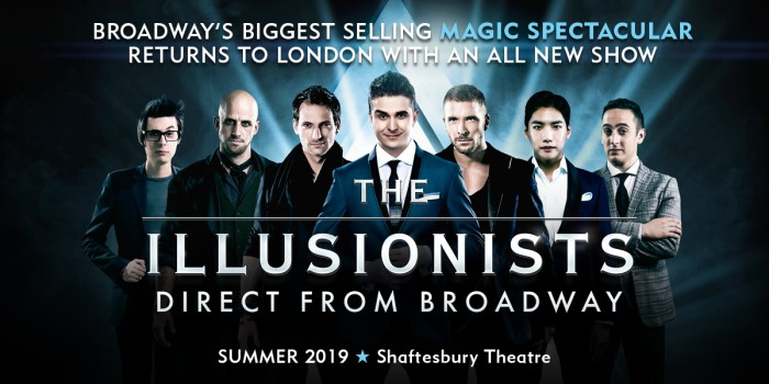 The Illusionists tickets at Shaftesbury Theatre