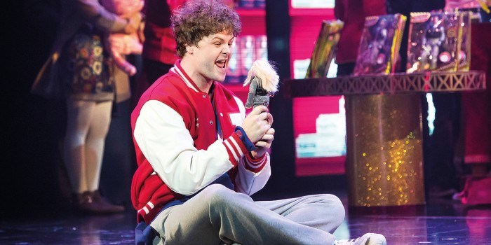 Jay McGuiness as Josh Baskin in Theatre Royal Plymouth production of BIG (Photo: Alastair Muir)