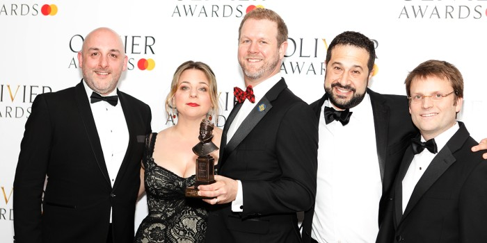 Come From Away took home four awards at the Oliviers 2019.