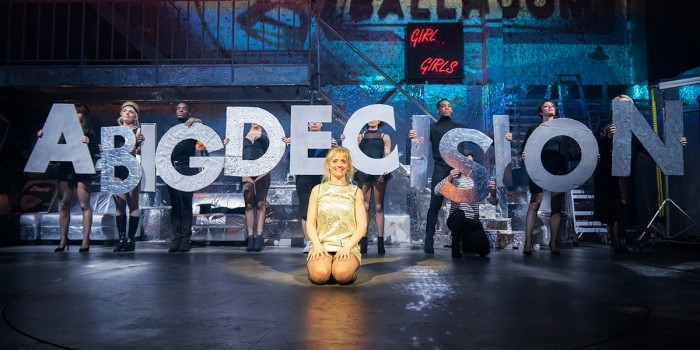 Anne-Marie Duff in Sweet Charity at the Donmar Warehouse (Photo: Johan Persson)