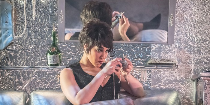 Danielle Steers in Sweet Charity at the Donmar Warehouse (Photo: Johan Persson)