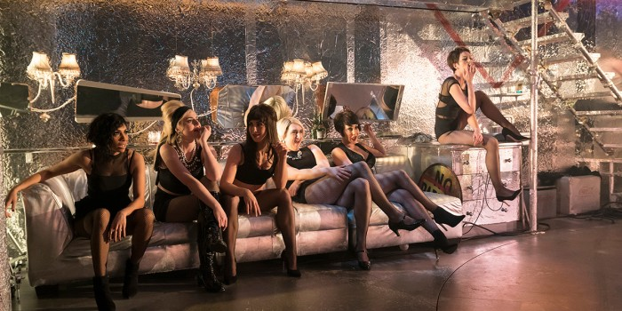 The company in Sweet Charity at the Donmar Warehouse (Photo: Johan Persson)