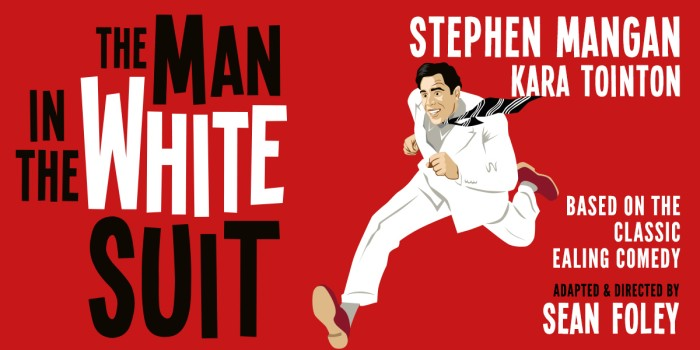 The Man In The White Suit artwork for the West End