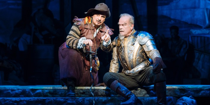 Peter Polycarpou and Kelsey Grammer in Man Of La Mancha by Manuel Harlan