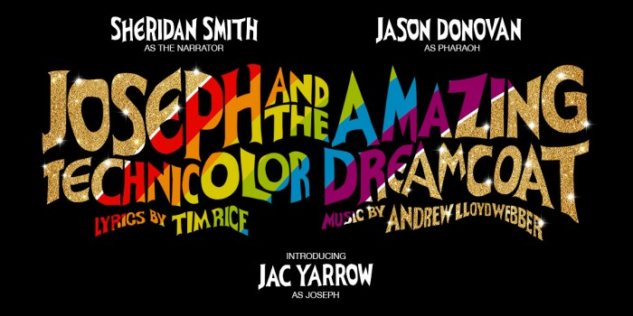 Joseph And The Amazing Technicolor Dreamcoat artwork in London's West End