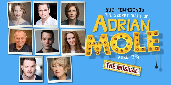The West End cast of The Secret Diary Of Adrian Mole - The Musical!
