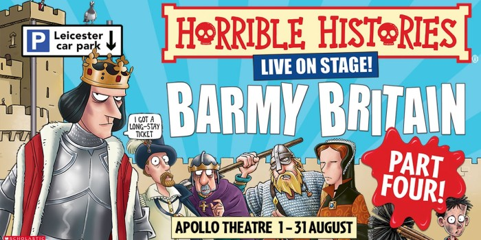 Horrible Histories Barmy Britain in the West End