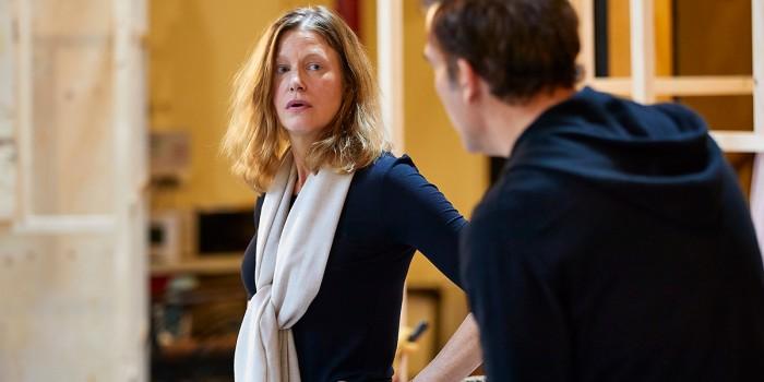 Anna Gunn in rehearsal for The Night Of The Iguana (Photo: Brinkhoff/Moegenburg)