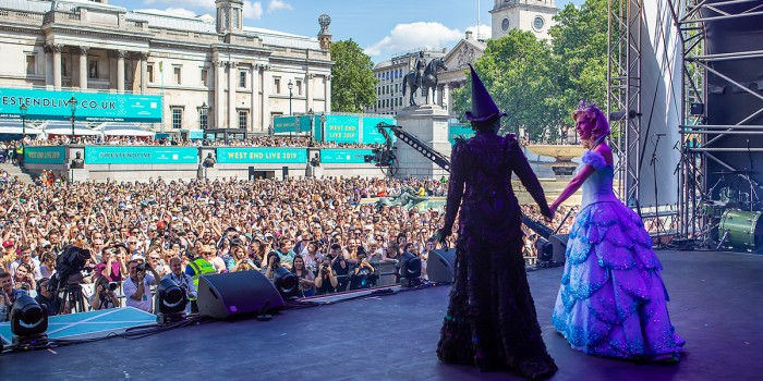 Wicked at West End LIVE 2019 (Photo: Pamela Raith)