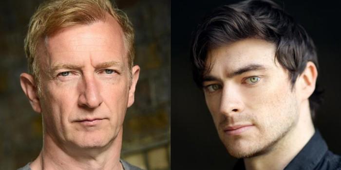 Steffan Rhodri and Gavin Drea