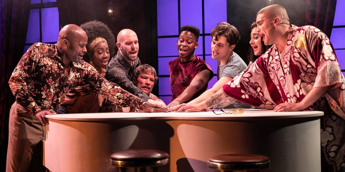 The cast of The View UpStairs (Photo: Darren Bell)