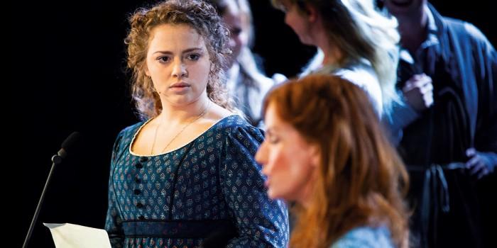 Carrie Hope Fletcher as Fantine - Photograph Matt Murphy