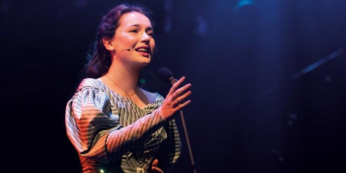 Lily Kerhoas as Cosette - Photograph Matt Murphy