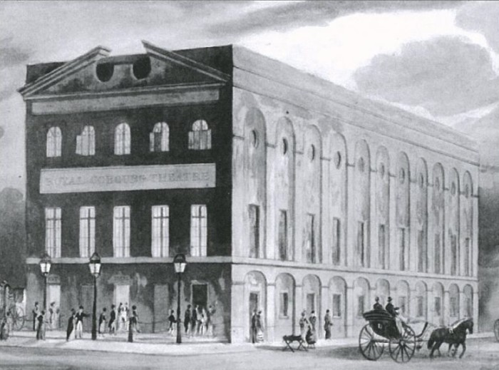 The Old Vic in 1818