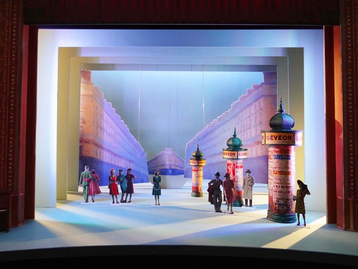 An American In Paris set designs (Credit: Bob Crowley and 59 Productions)