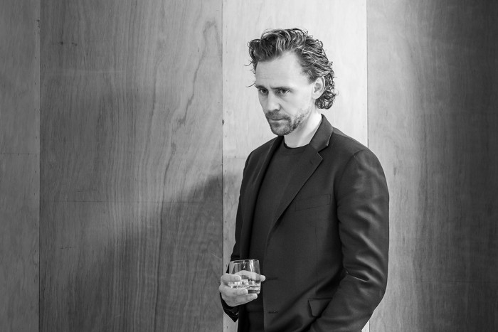 Tom Hiddleston in rehearsal for 'Betrayal'. Photo credit Marc Brenner