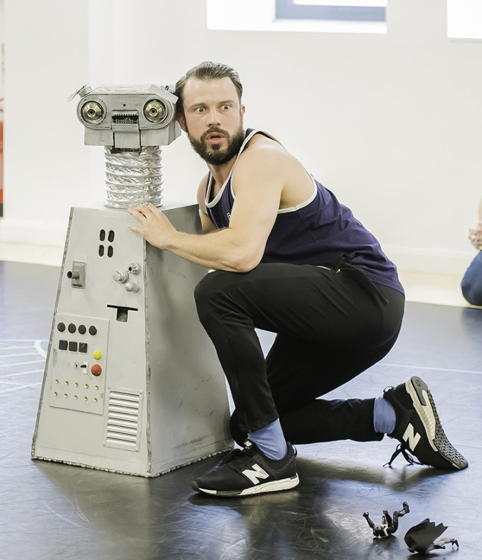 Eugenius! rehearsals (Photo: Nik Dudley)