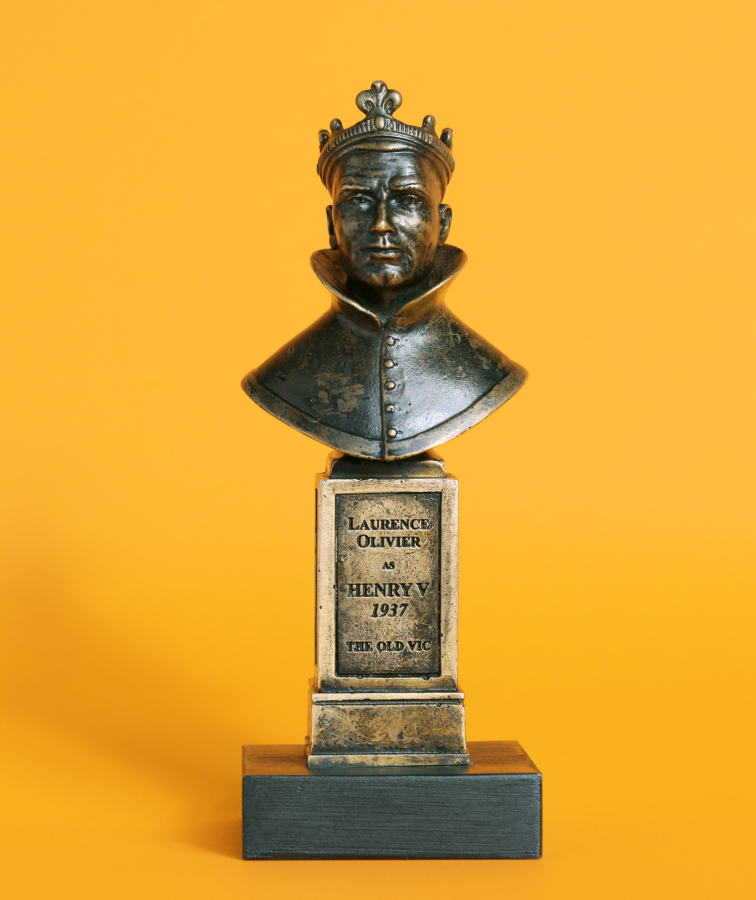 olivier awards brand resources and statue