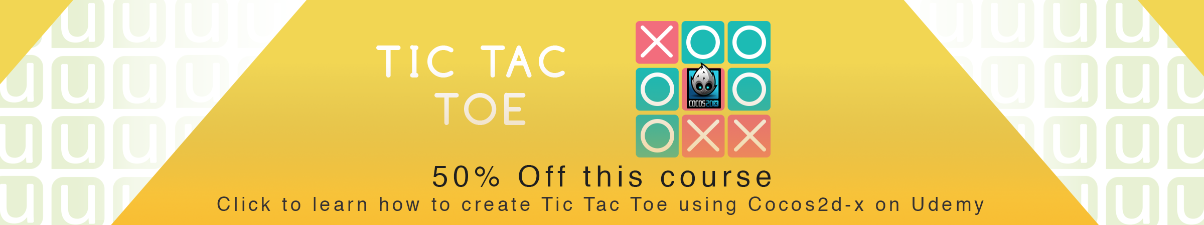 Tic-Tac-Toe Cocos2d-x C++ Banner
