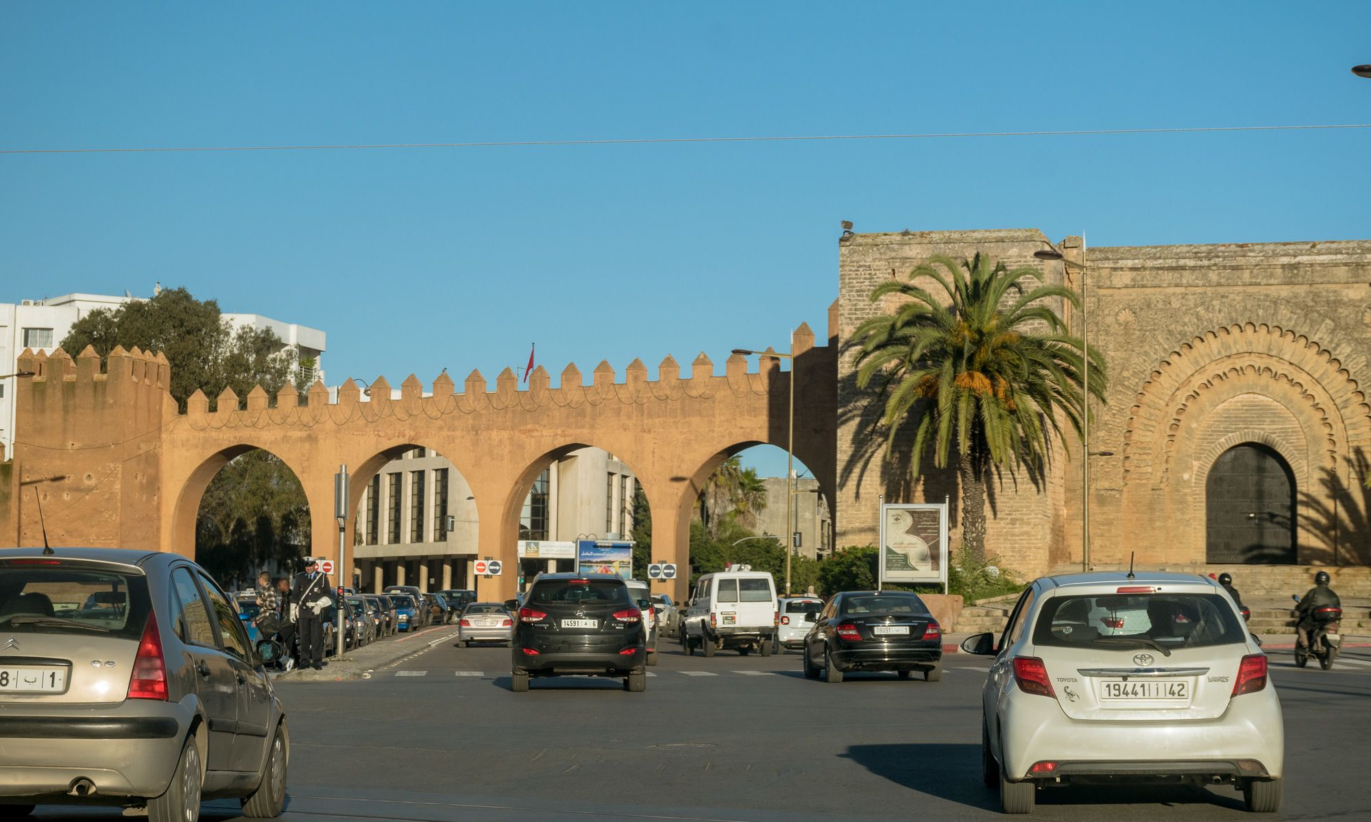 murs de Rabat