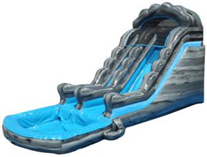16' Blue Marble Slide