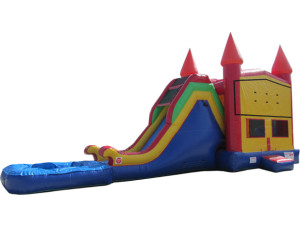 Modular Jump & Slide w/ Pool $250.00 INCLUDING DELIVERY, SETUP, & PICKUP for a 24 hour reservation.