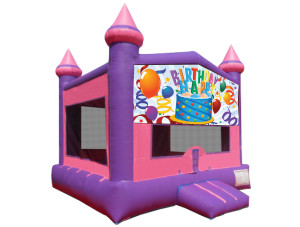 Pink Birthday Castle