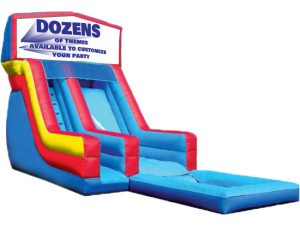 18' Modular Slide w/ Pool