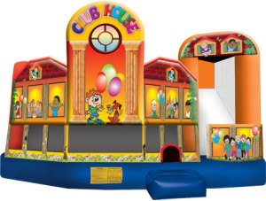 5 in 1 Bounce & Slide Clubhouse
