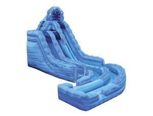 Blue Ice w/ Landing