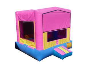 Pink/Blue/Yellow Modular Bounce 15'x15' DELIVERY,SETUP, & PICKUP for a 24 hour rental $135.00! PICKUP on Friday OR Saturday keep Until Monday $135.00!