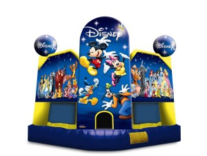 World of Disney Club Bounce $135.00 15 x 15ft. INCLUDING DELIVERY, SETUP, & PICKUP for a 24 hour reservation.