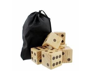 Giant Yard Dice 6-Pack Set