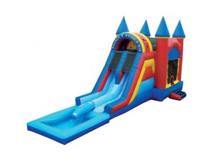 Bounce N Double Dip Castle w/Pool