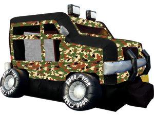 Military Truck Jump