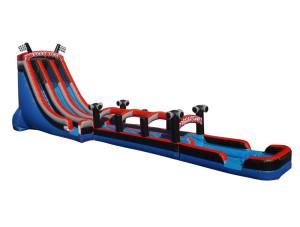 Dual Lane Racer Slip N Slide Combo