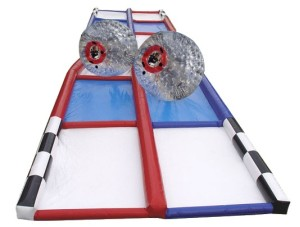 75' Criss Cross Collision Course/Zorb Track