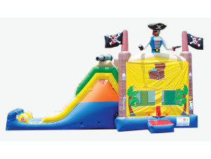 4 in 1 Pirate Jump n Slide Combo