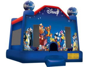 World of Disney 15 x 15 $135.00 INCLUDING DELIVERY, SETUP, & PICKUP for 24 hrs.