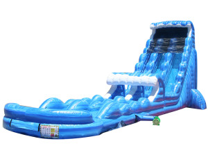 27 Ft Tsunami Water Slide