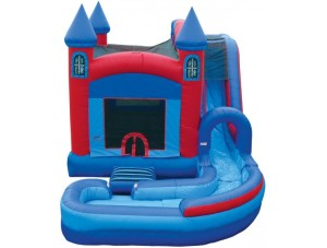Jump N Splash Castle w/Landing