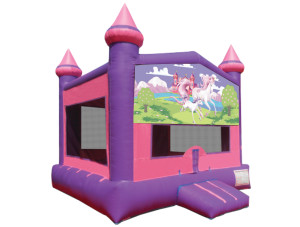 Pink/Purple Unicorn Castle