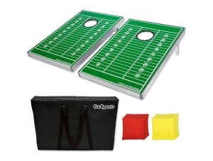 Football Corn Hole Game
