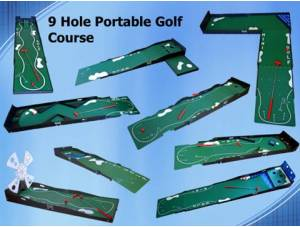 9 Hole Portable Golf Course