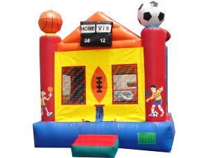 2 in 1 Sports Arena Bounce (15x15)